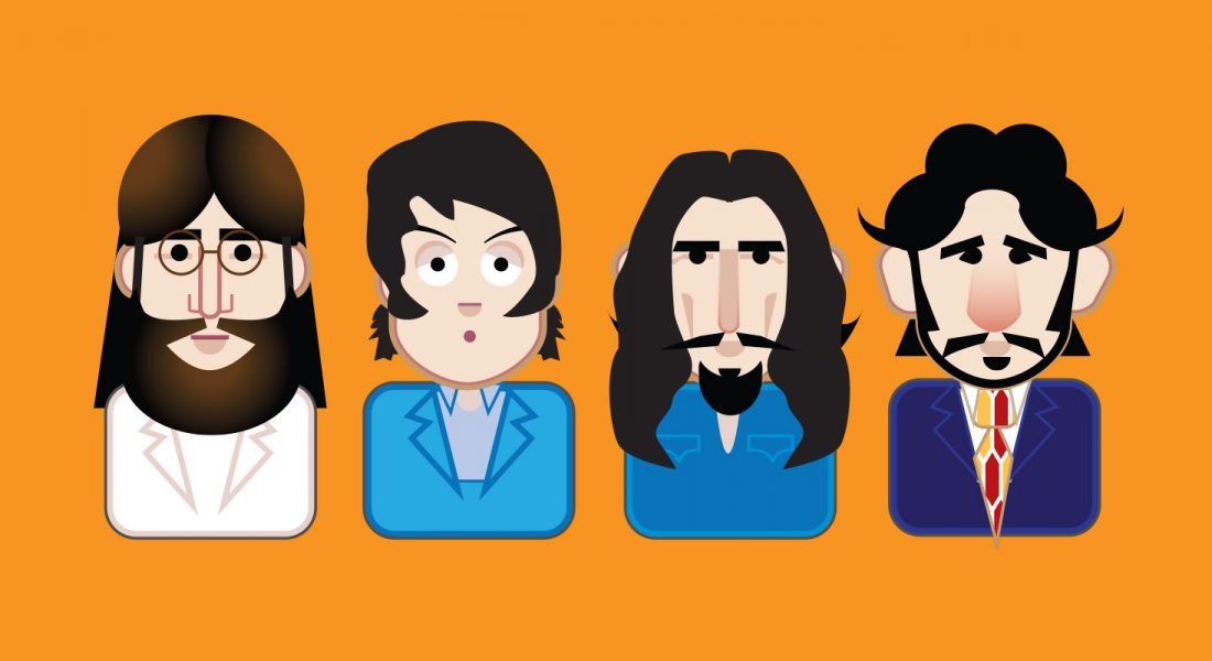 Beatle Emoji Abbey Road