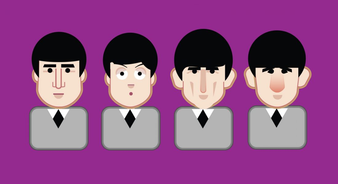 Beatles Emoji Early Beatles