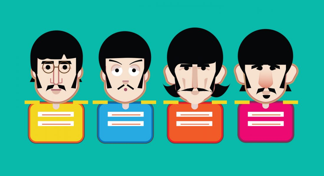 Beatles Emoji Sgt Pepper