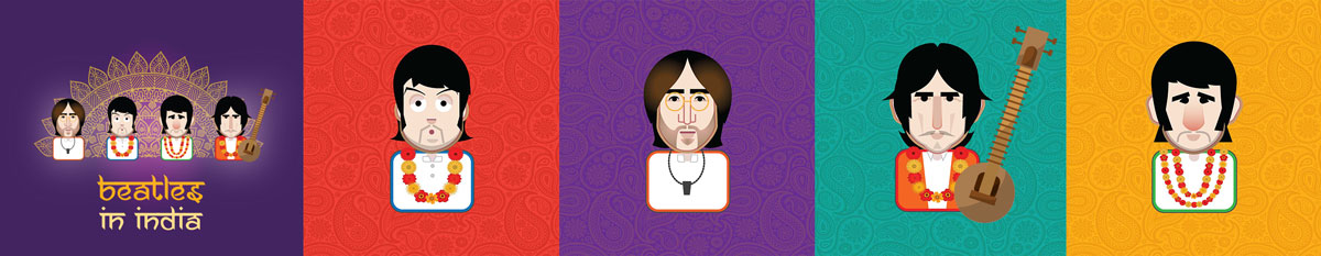 beatles-in-india-event-illustration