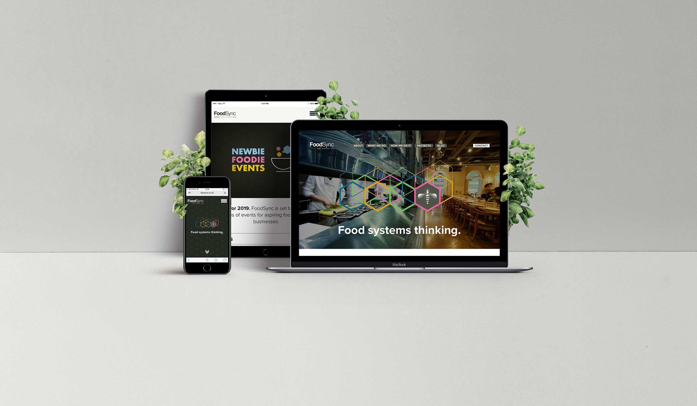 website design across desktop tablet mobile