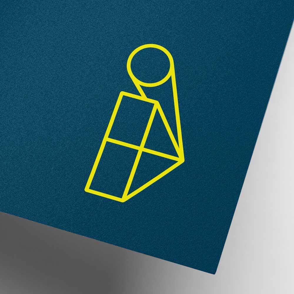 geometric-brand logo design stockport