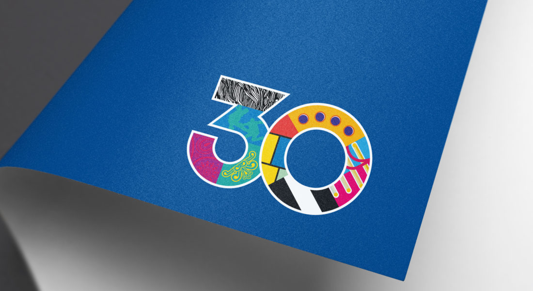 logo identity on letterhead