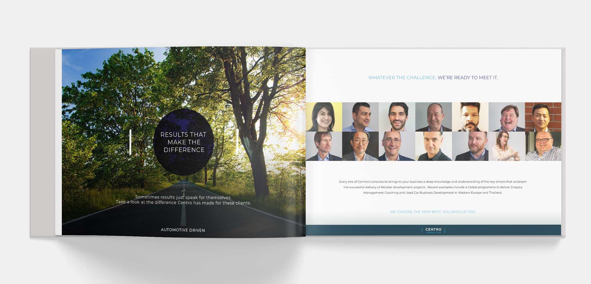 b2b marketing design layouts