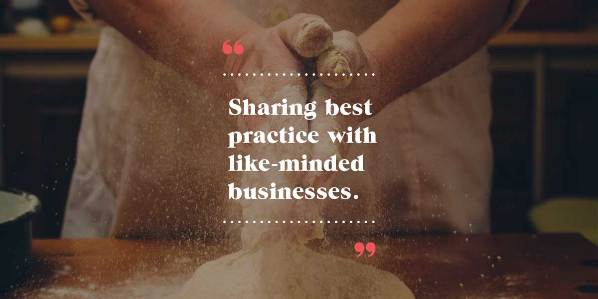 Sharing best practice with like-minded businesses